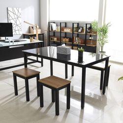 래티코 세이드 철제 사무용 컴퓨터 책상 1500