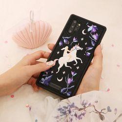 아이폰876 프리미엄 풀자수 유니콘 케이스