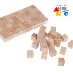샘통 쌓기나무 1cm 50p(비취우드)