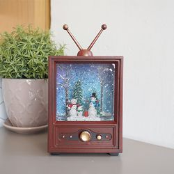 크리스마스 TV 오르골 (눈사람)