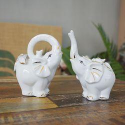 큐빅 로즈 코끼리 2P (928)