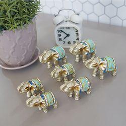 민트 미니 코끼리 7P