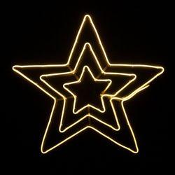 네온플렉스 별 70cm 웜 크리스마스 전구 장식TRDELB