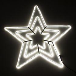 네온플렉스 별 70cm 백색 크리스마스 전구 TRDELB