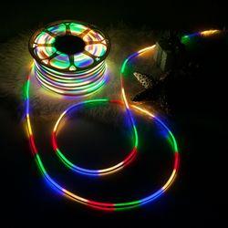 LED 네온플렉스 50m 칼라 크리스마스 전구 TRDELB