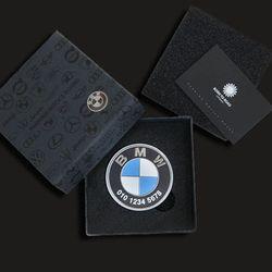 본투로드 BMW 프리미엄 메탈 원형 주차알림판