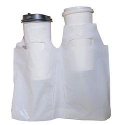 생분해성 친환경 비닐캐리어 2구 점선 분리형 5묶음 1000장