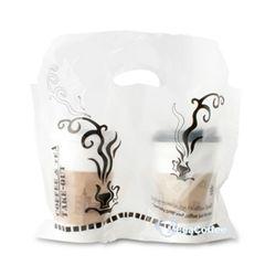 비닐 컵캐리어 2구 커피 1묶음 200장