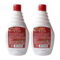 팥모아 딸기시럽 500g 2개세트