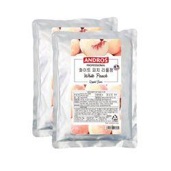 앤드로스 화이트피치 리플잼 1kg 2개세트