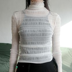 wave see-through top (3colors)