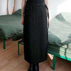 mini pocket h-line skirts (4colors)