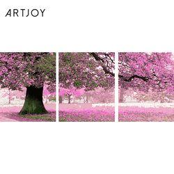 아트조이 DIY 명화그리기 벚꽃 나무 (3단세트)