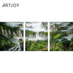 아트조이 DIY 명화그리기 폭포수 풍경 3 (3단세트)