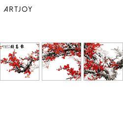 아트조이 DIY 명화그리기 꽃 피는 나무 (3단세트)