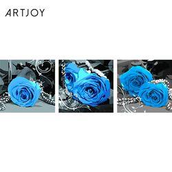 아트조이 DIY 명화그리기 블루 로즈 (3단세트)