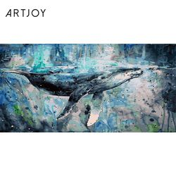 아트조이 DIY 명화그리기 고래의 여행 50x100cm (조립형)