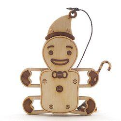 [WOODTRICK] 크리스마스 눈사람 (WDT190401) 우드 3D 목재 퍼즐