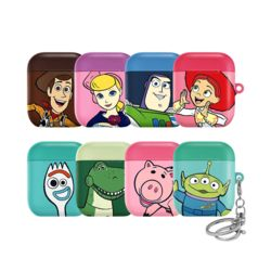 에어팟 디즈니 정품 토이스토리 하드 케이스 키링세트