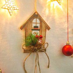 크리스마스 벽장식 오너먼트
