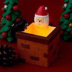 2019 크리스마스 LED 벽난로 피규어 한정판