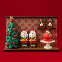 2019 크리스마스 벽장식 피규어 한정판