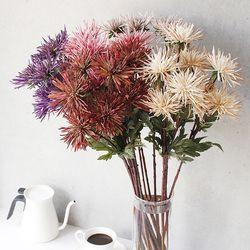 실 국화 조화 꽃 - 5color