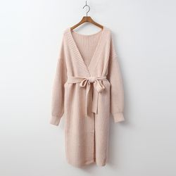 Wool Shawl Long Cardigan