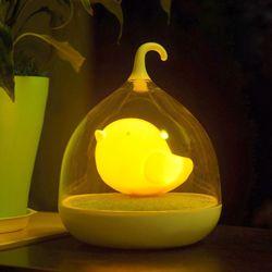 새장램프 아기새 무드등 (오렌지)