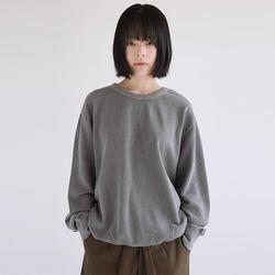 soft washing cool sweatshirts (2colors)