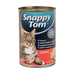 [1+1] 스내피톰 위드 치킨 400gx12 고양이 간식고양이 캔