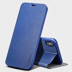 아이폰11 프로 맥스 PRO MAX 슬림핏 가죽 플립 케이스
