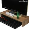 WDC7515 원목 받침 선반 모니터 받침대 (짜맞춤 결합)