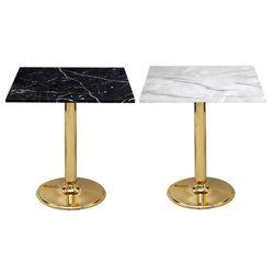 대리석무늬-600사각-골드3인치 티테이블