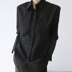 [top] 트렌치 디테일 셔츠