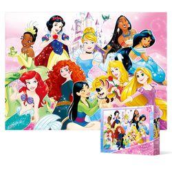 100피스 직소퍼즐 - 디즈니 프린세스 캐슬 (큰조각)