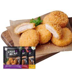 닭가슴살 카츠 혼합 200gx5팩(1kg)