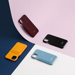 FENNEC LEATHER iPHONE 11 CARD CASE (4COLOR)