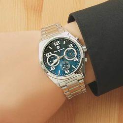 [Timepieces] 멀티펑션 남성 커플 메탈시계 OTC119T05FLS
