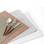 멜란지 사각 식탁매트 4color