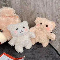[~12/1까지] 귀여운 테디베어 곰돌이 털 인형 뜨개질 에어팟케이스