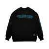RABBIT GANG OVERSIZED HEAVY SWEAT CREWNECK BLACK