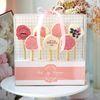 [무료배송] 핑크플라워 막대과자 만들기 set