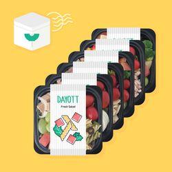 샐러드 도시락 정기배달 프로그램 4주