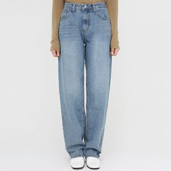 uncovered long denim pants (s m)