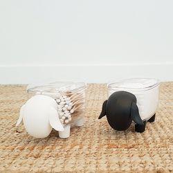 어린양 아기코끼리 면봉 케이스