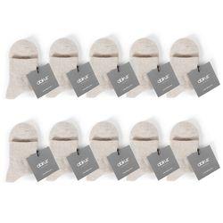 오트밀 여성용 기본양말 10종세트