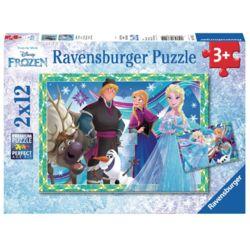 라벤스부르거 겨울왕국 12피스 2종  직소퍼즐