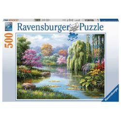 라벤스부르거 로맨틱한 연못 500피스 직소퍼즐