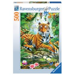라벤스부르거 정글의 호랑이 500피스 직소퍼즐